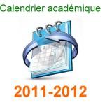 الرزنامة السنوية للموسم الجامعي 2011 - 2012  - جامعة بسكرة -  Ca2012